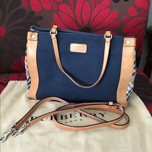 Burberry London Blue label shoulder /crossbody bag